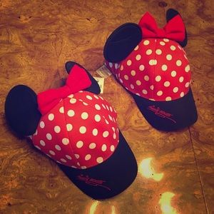 2 Mickey Mouse Hats